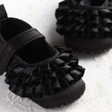 baby shoes girls newborn blk swan satin infant shoe