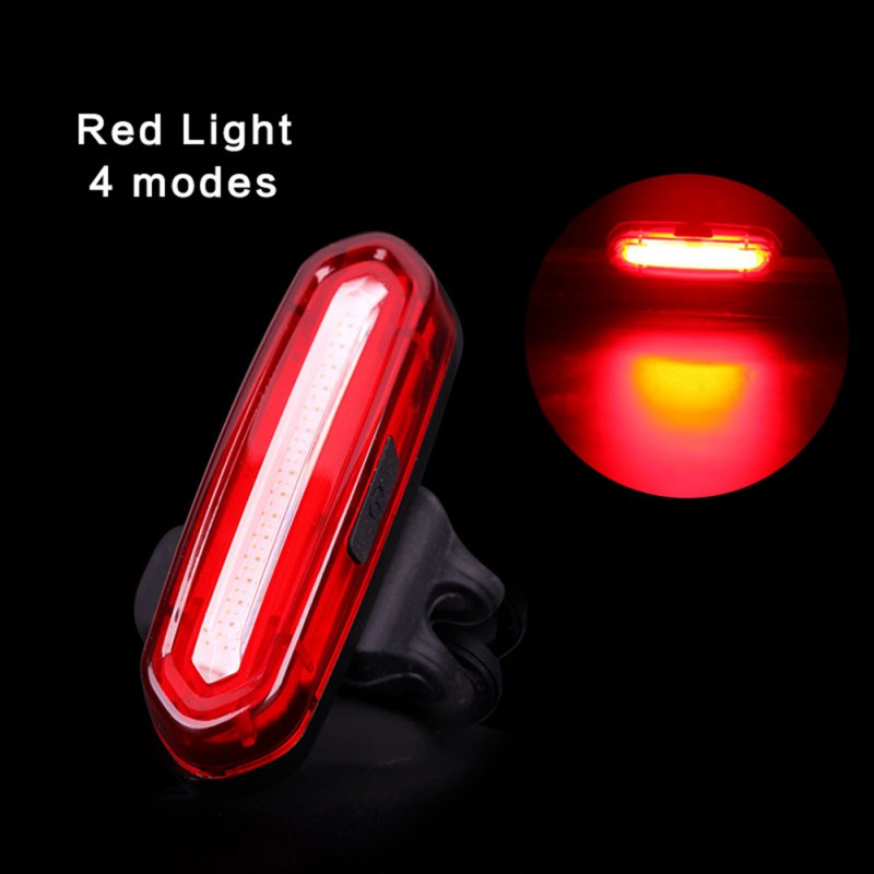 High Quality 100 LM Rechargeable LED USB Mountain Bike Taillight MTB Safety Warning Bicycle Rear Light Bicycle Lamp Tail Light