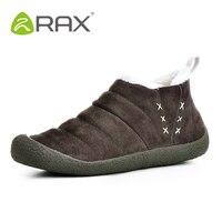 Men Slip On Winter Warm Walking Shoes Outdoor Plush Fur Snow Sneakers Women Comfortable Anti slip Soft Sole Shoes AA12348