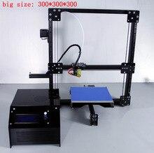 Новинка 2017 300 300 3D комплект принтера dxcorexz линейный руководство принтер 3D с 50 г pla Большие размеры Heatbed машины 3d принтер