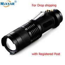 3000LM Led Flashlights Portable LED Mili
