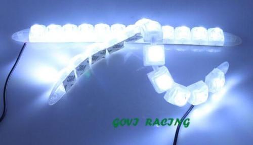12 LED Eagle ματιών COB DRL αυτοκίνητο Daytime - Φώτα αυτοκινήτων - Φωτογραφία 3