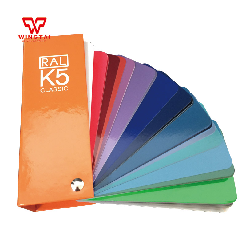 Hot Sale Original RAL Color Shade Card RAL K5 RAL Color Chart K5 ral swatch