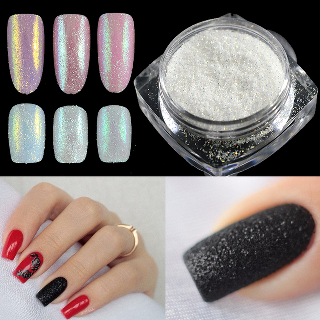 1g Holographic Glitter Powder Gorgeous Shining Sugar Nail Art ...
