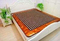 Free Shipping jade heating massage mattress Heating Health Bed Mattress Far Infrared Thermal As Seen On TV 1.2*1.9M