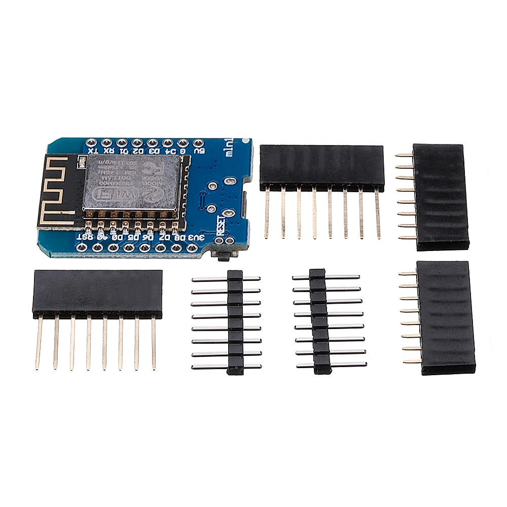 D1 Mini V2.2.0 WIFI Internet Development Board Based ESP8266 4MB FLASH ESP-12S Chip
