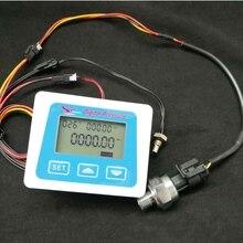 1.2Mpa digital pressure gauge Air Water Pressure Meter transmitter piezometer manometer Tester thermometer With Sensor