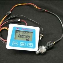 مقياس الضغط الرقمي 1.2Mpa مقياس ضغط المياه في الهواء جهاز إرسال مقياس الضغط مقياس الضغط مع جهاز استشعار