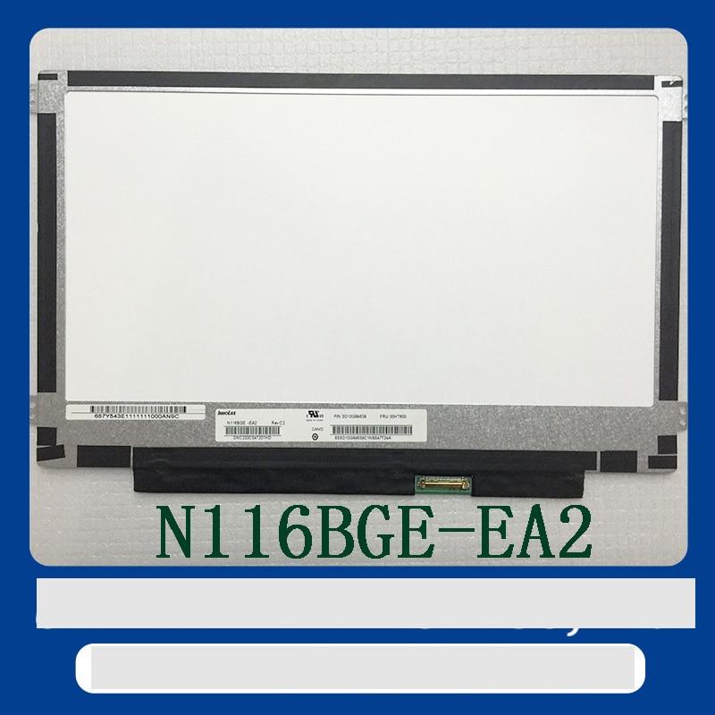 Free shipping Brand new N116BGE-E32 N116BGE-EA2 N116BGE-E42 N116BGE-EB2 LCD B116XTN01.0 Screen EDP LCD monitor n116bge ea2 e42 e32 eb2 fit b116xtn01 0 m116nwr1 r7 30pins left right ears edp