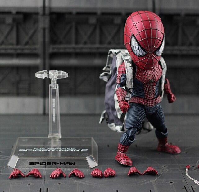NEW hot 18 cm Spider-Man Homecoming avengers Q versione action figure giocattoli Spiderman regalo Di Natale con la scatola