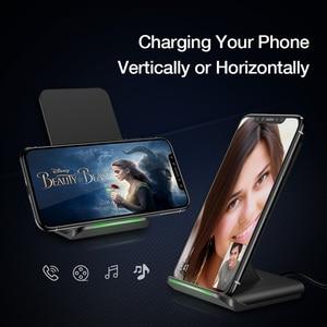 Image 5 - RAXFLY 10W QI cargador inalámbrico para iphone 11 XR 8 Plus carga rápida para Huawei P30 Pro cargador inalámbrico de teléfono para Samung S10 S9