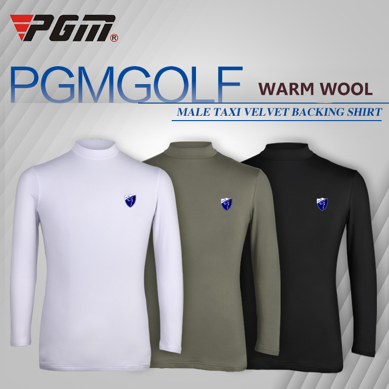 Brand mens golf warm shirts camisetas manga corta golf velveteen Tshirts thickening mens Golf apparel polera hombre polo sport