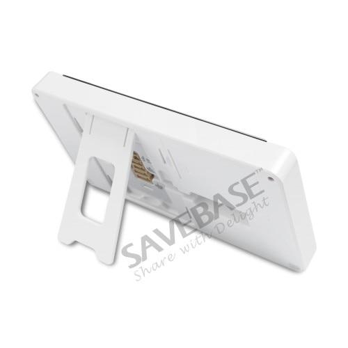 HOMSECUR 7 телефон видео домофон Системы + IR Ночное видение для дома безопасности 2C3M: TC021-S Камера (серебро) + TM703-W монитор (белый)