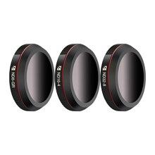 Freewell paisagem nd gradiente 4 k série 3 pacote ND8 GR, ND16 4,ND32 8 lente da câmera para dji mavic 2 zoom/mavic 2 empresas zangão
