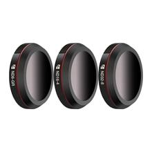 Freewell paisaje ND gradiente 4K Serie 3Pack ND8 GR, ND16 4,ND32 8 lente de cámara para DJI Mavic 2 Zoom/Mavic 2 Enterprises Drone