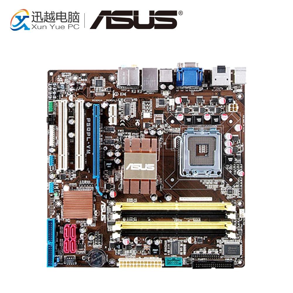 Asus P5QPL-VM Desktop Motherboard G41 Socket LGA 775 DDR2 8G SATA2 USB2.0 uATX