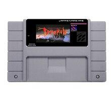 Hot Sale BRAM'S FOGUISTA DRÁCULA Jogo De Cartas Para 46 Pin de 16 Bits Jogador Do Jogo NTSC