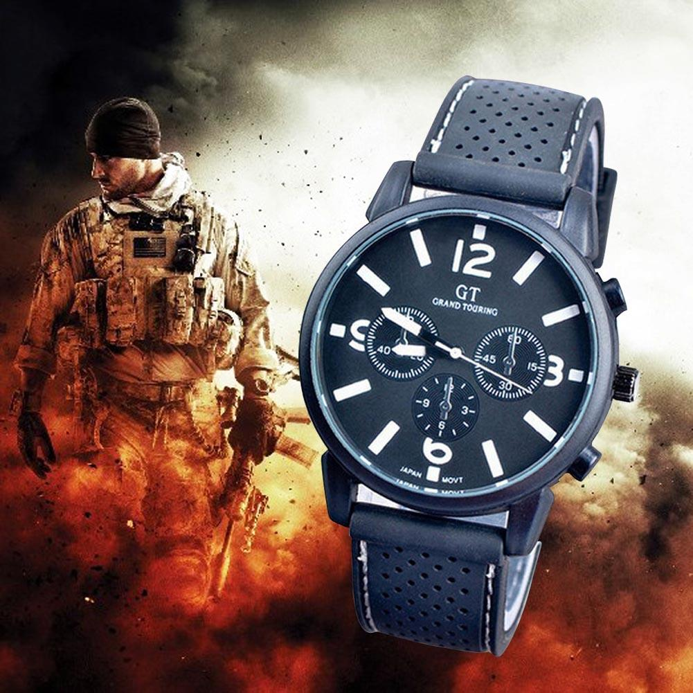 Fashion Style men's Watches Army Racing Force Military Sport Officer Watch Quartz Watch relogio masculino недорого