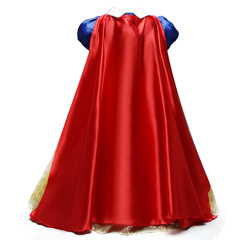 HTB18rZovXooBKNjSZPhq6A2CXXaf 2019 Children Girl Snow White Dress for Girls Prom Princess Dress Kids Baby Gifts Intant Party Clothes Fancy Teenager Clothing