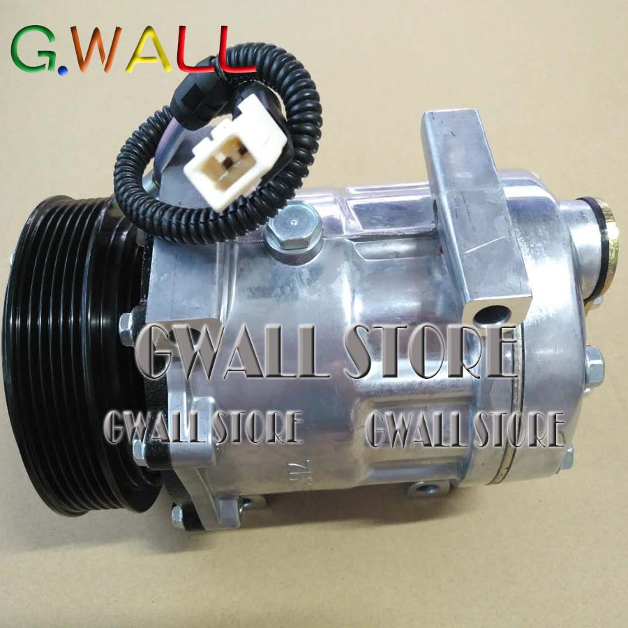 Pour Massey Ferguson Type 6495 voiture Auto A/C compresseur avec embrayage pièce n ° QP8244