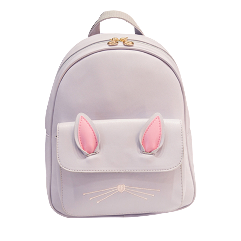 Fashion Women's Backpack PU Leather Waterproof Bags School Bags Teenage Girls College Student  Casual Bag Travel 30%OFF T403 menghuo casual backpacks embroidery girls school bag female backpack school shoulder bags teenage girls college student bag