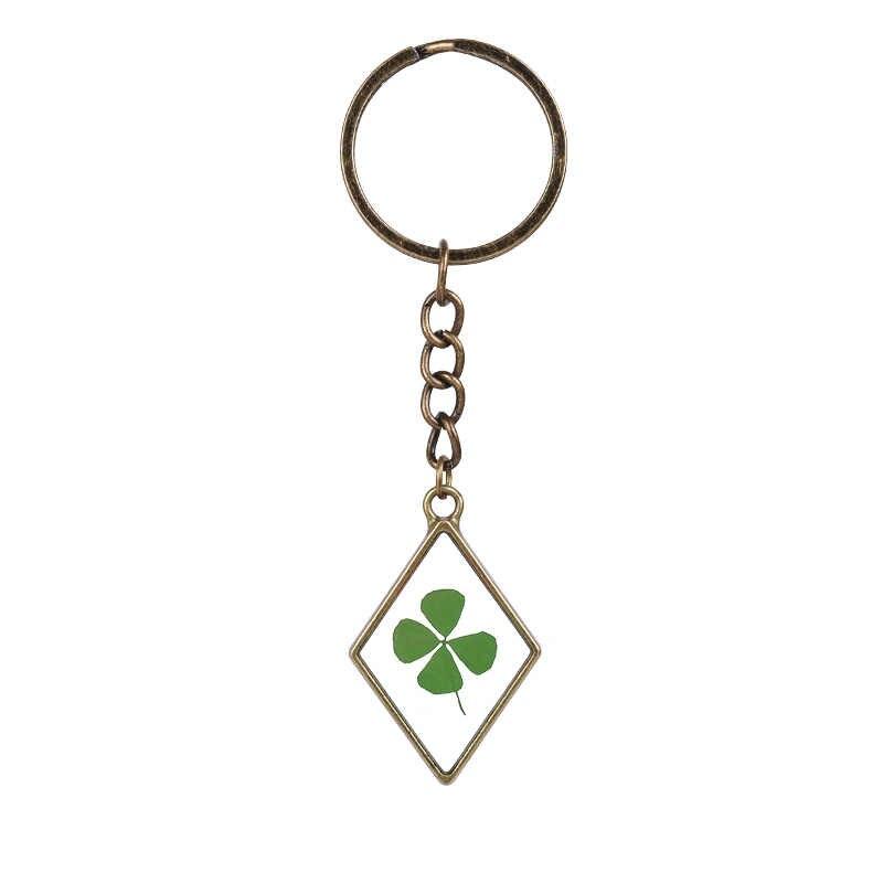 7 Màu Sắc New Arrival DIY Jewelry Quà Tặng Nature Hoa Thủy Tinh Đong Đưa Bám Keychain Keyring Cho Cô Gái Chàng Trai Ngọt Ngào Bán Buôn Số Lượng Lớn