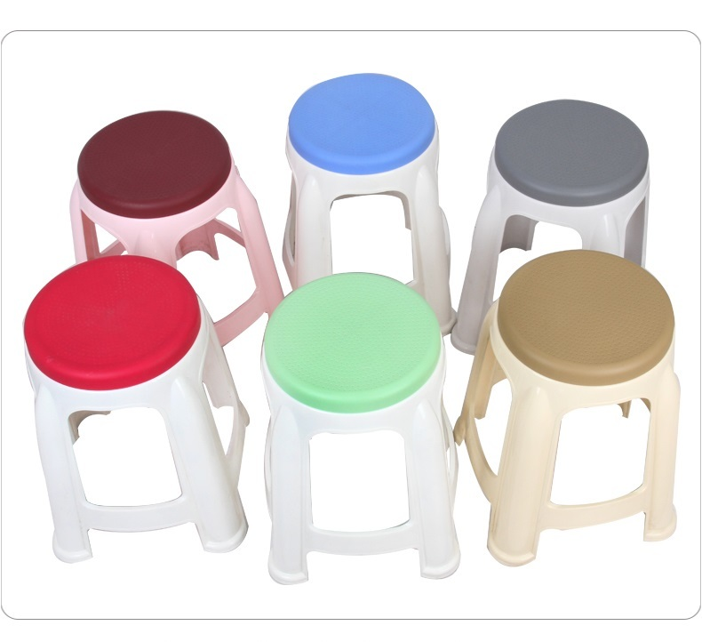 цена Toilet green stool retail Bath plastic stool wholesale blue red wine gray color dressing room stool free shipping