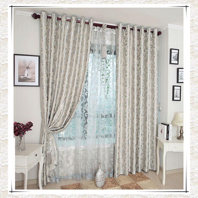 Cortinas de la ventana para sala de estar / dormitorio ventana