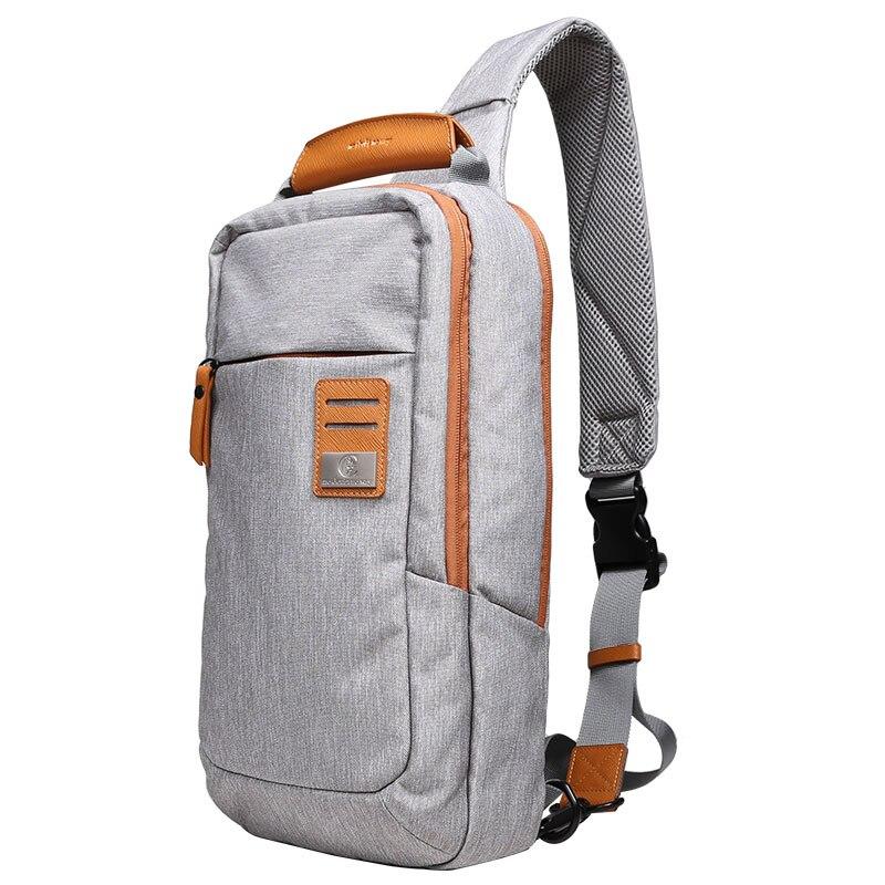 New Cross Body Shoulder Bag for men Small Cell Phone Canvas Strap Sling Men Messenger Bags