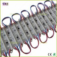 wholesale 20pcs DC12V 3leds 5050 RGB WS2811IC T7515 strings Individually Addressable Full color Waterproof IP68 LED Module Light