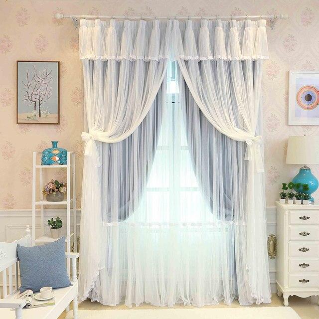 Tienda Online Sunnyrain 1 pieza de lujo cortina para dormitorio ...