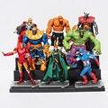 New Super Herói Vingador Maravilha Loki Thor Capitão América Homem De Ferro Hulk Batman Figura de Ação Brinquedo