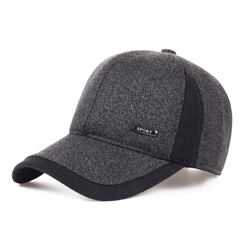 b8673887 TUNICA Autumn Winter Keep Warm 100% cotton Snapback Bones Men Women Baseball  Cap Simple Splicing