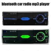 1 din FM Récepteur De Voiture Radio Stéréo Audio En-dash Aux Entrée USB2.0 MP3 SD carte Bluetooth lecteur 12 V