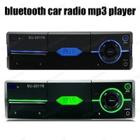1 Din FM Receiver Car Radio Stereo Audio In Dash Aux Input USB2 0 MP3 SD