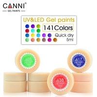 CANNI Soak off UV LED Gel Nail Polish Hot Sale Nail Painting Gel Nail Gel Polish