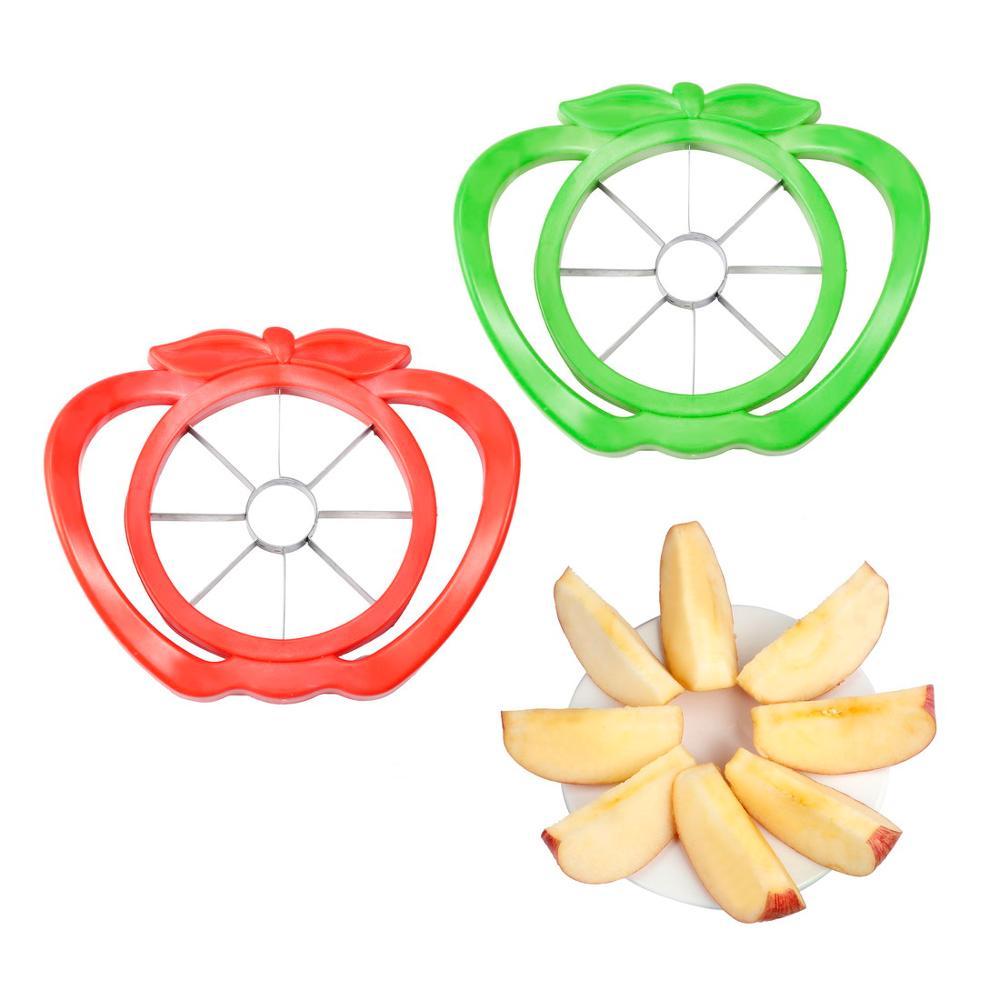 Cucina Mela Affettatrice Corer Cutter Pera Frutta Divisore Strumento Maniglia Comfort Per La Cucina Di Apple Peeler Trasporto Ve Corers Aliexpress