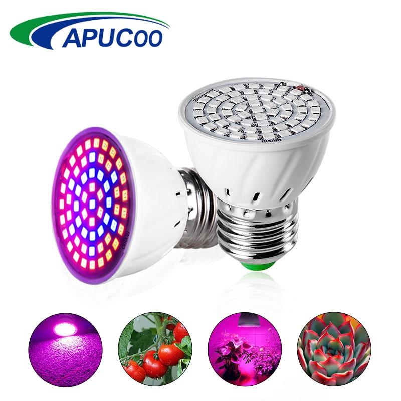 LED E27 fuld spektrum til dyrkning af hjemmeplant 220 lamper V led afgrøder voksende lamper LED vokser lys til dyrkning ...
