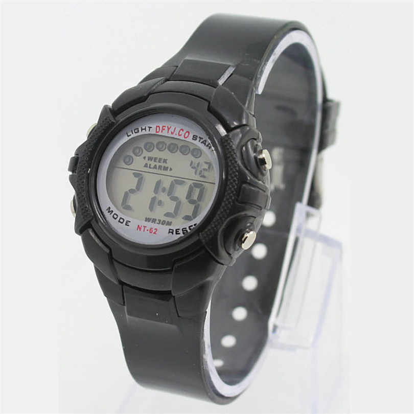 New Fashion Kid Watch Alarm Date Digital Smart Multifunction Sport LED Light Wrist Watch For Girls Boys Gift #4m16