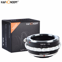 K&F CONCEPT Newest Camera Lens Adapter Ring For Nikon Lens To Fujifilm X Mount X Pro1 X M1 X E1 X E2 M42 X T1