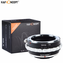 K&F CONCEPT Newest Camera Lens Adapter Ring For Nikon Lens To Fujifilm X Mount X-Pro1 X-M1 X-E1 X-E2 M42  X-T1