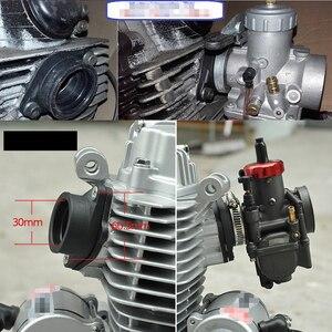 Image 5 - ZSDTRP For 21 24 26 28 30 32 34mm OKO KEIHIN KOSO PE Carburetor Pit Dirt Bike Rubber Adapter Inlet Intake Pipe