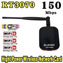 Nueva de Alta Potencia/Velocidad N9000 Conexión Gratuita A Internet WiFi Adaptador USB Inalámbrico 150 Mbps de largo Alcance + Antena Wi fi Wi-fi Receptor Caliente de La Venta!!