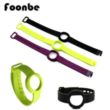 7 Colors Up Move Replacement Strap Clasp Fastness Rubber Smart Wrist Band Bracelet for Jawbone Up Move Without Tracker