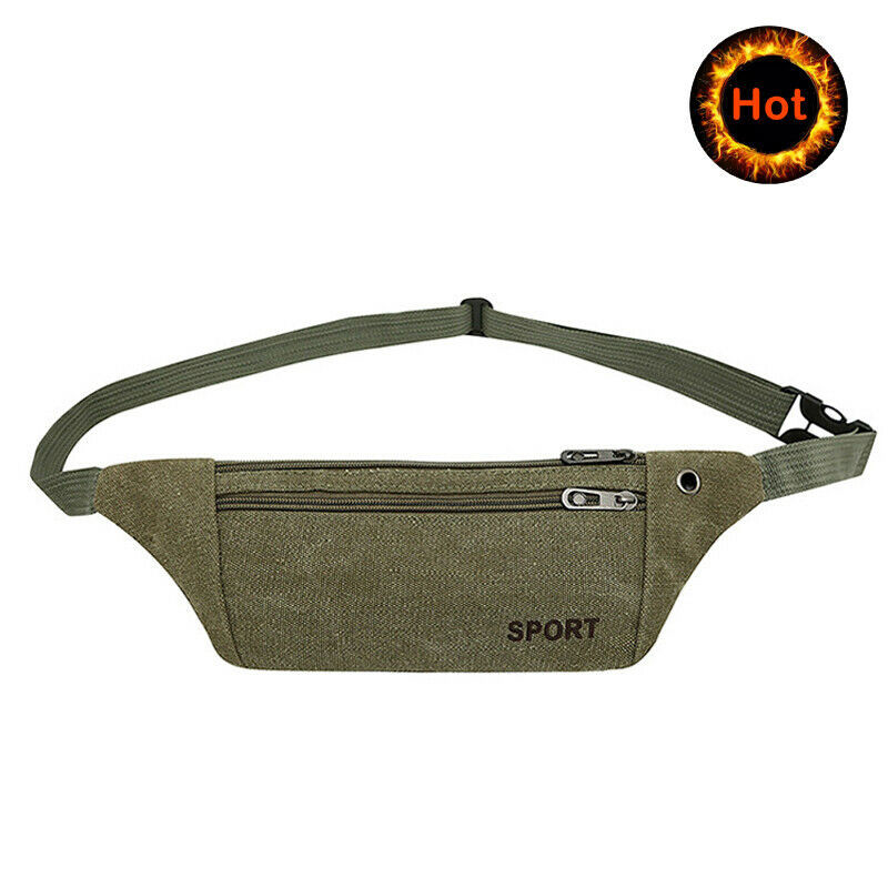 Waist Packs Durable Men Casual Sports Bags Fanny Waist Pack Leisure Sports Bag Belt Hip Bum Military Tactical Running Bag Pouch