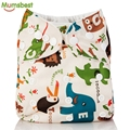 [Mumsbest] 2016 Washable Baby Cloth Diaper Cover Waterproof Cartoon Owl Baby Diapers Reusable Cloth Nappy Suit 0-2years 3-13kg