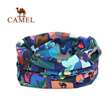 Camel camel outdoor bandanas ride hiking bandanas print scarves