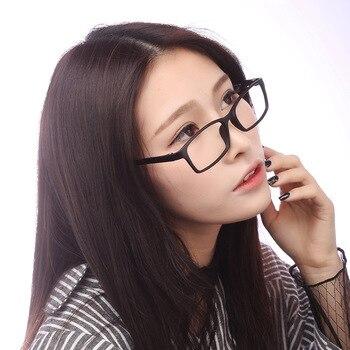 -0.5 à-6.0 revêtement myopie Anti rayon bleu Anti rayonnement fini lunettes hommes et femmes montures de lunettes avec dioptrie