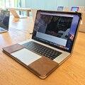 Jisoncase Роскошный Ноутбук Чехлы для MacBook Pro Retina 13 15 дюйма портативный Кожа PU Сумки Чехол для Macbook Pro с Сенсорным Бар