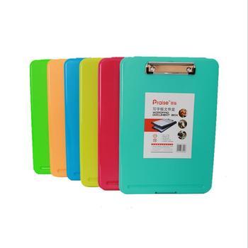 Proste duża pojemność A4 Folder plików Pad walizka biznesowa aktówka chemicznych filcowe artykuły biurowe tanie i dobre opinie 2019170 35cm x 24cm x 2 5cm Z tworzywa sztucznego Plik skrzynka Torba Show as the pictures A4 File Folder Case A4 Plastic File Folder